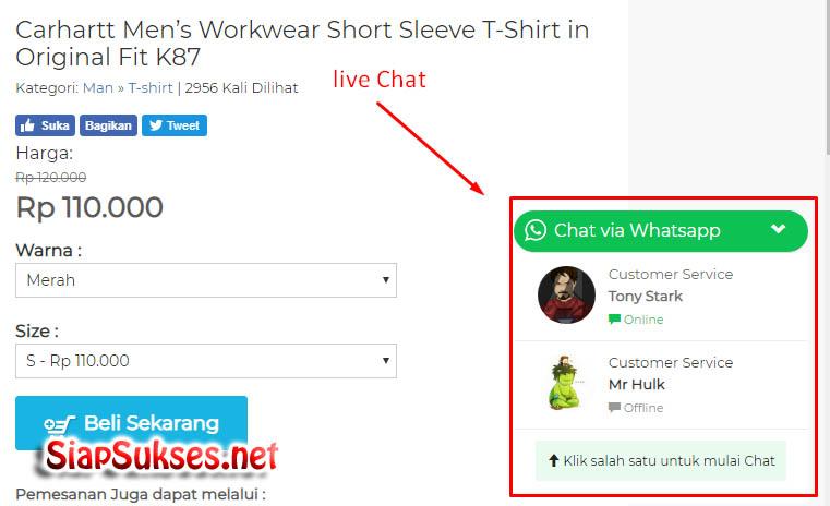 live chat wa