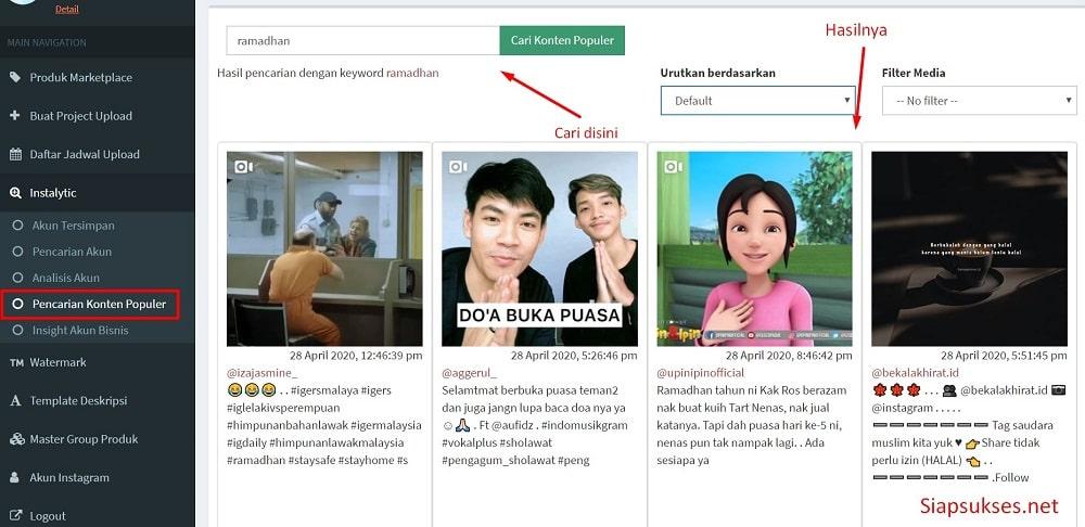 pencarian_konte_populer_bossgram
