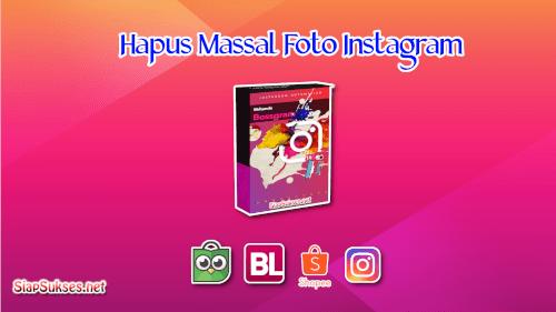 cover hapus massal foto instagram